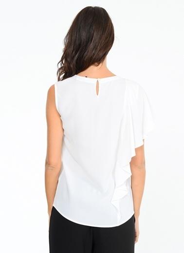 BcbgMaxAzria Bluz Beyaz